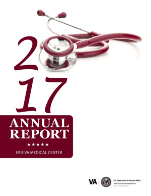 Cover of Erie VA Medical Center 2017 Annual Report