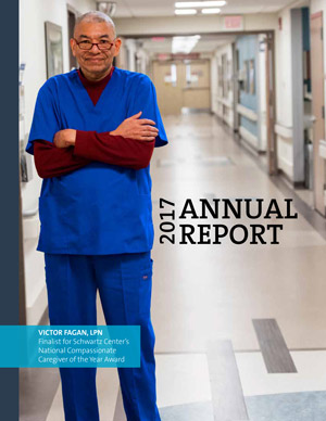 Cover of VA Pittsburgh Healthcare System 2017 Annual Report
