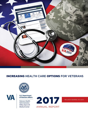 Cover of Wilkes-Barre VA Medical Center 2017 Annual Report