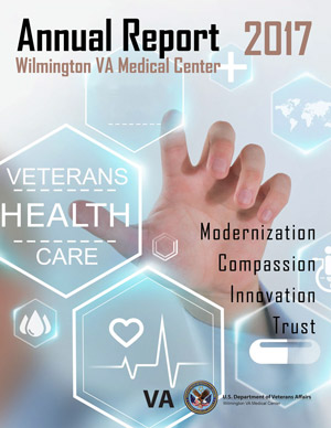 Cover of Wilmington VA Medical Center 2017 Annual Report