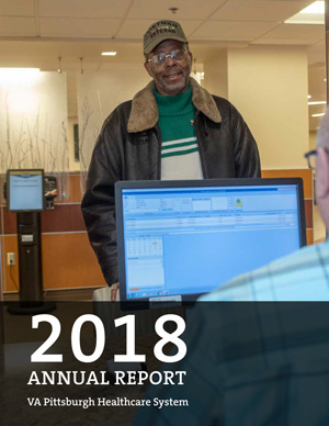 Cover of VA Pittsburgh Healthcare System 2018 Annual Report