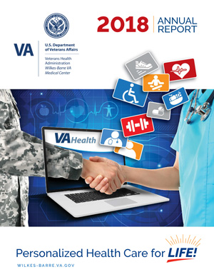 Cover of Wilkes-Barre VA Medical Center 2018 Annual Report