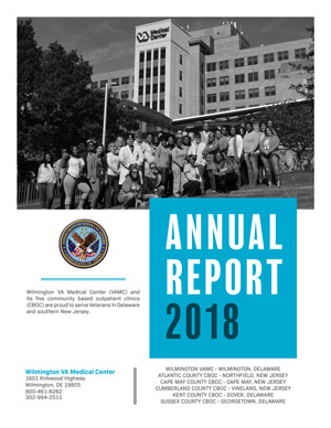 Cover of Wilmington VA Medical Center 2018 Annual Report