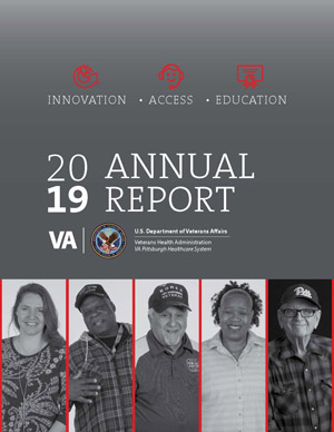 Cover of VA Pittsburgh Healthcare System 2019 Annual Report
