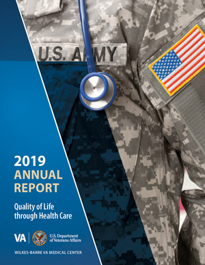 Cover of Wilkes-Barre VA Medical Center 2019 Annual Report