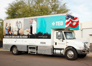 Telehealth Education Delivered mobile van