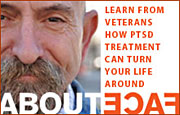 National Center for PTSD AboutFace homepage