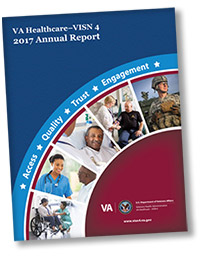 Cover of the 2017 annual report.