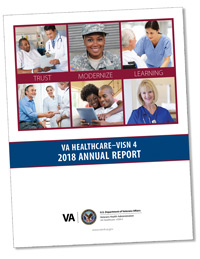 Cover of the 2018 annual report.
