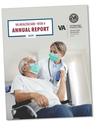 Cover of the 2020 annual report.